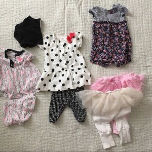 8-piece Dress Up Bundle - Baby Girl